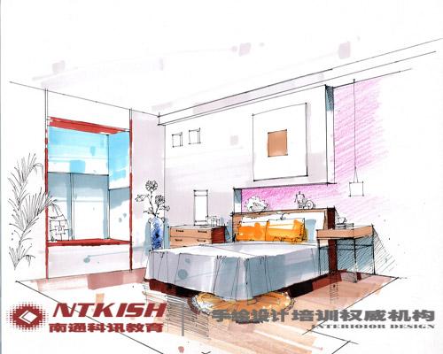手绘设计专栏- 南通室内设计培训,南通室内效果图培训